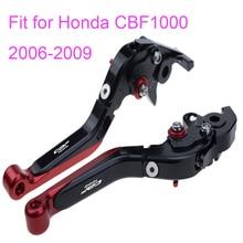 KODASKIN Left and Right Folding Extendable Brake Clutch Levers for Honda CBF1000 2006-2009