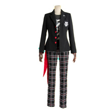 Persona 5 Dancing Star Night Joker Protagonist Akira Kurusu Cosplay Costume Custom Made