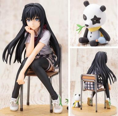 14.5cm My Teen Romantic Comedy SNAFU Yukinoshita Yukino Anime Action Figure PVC New Collection figures toys Collection image