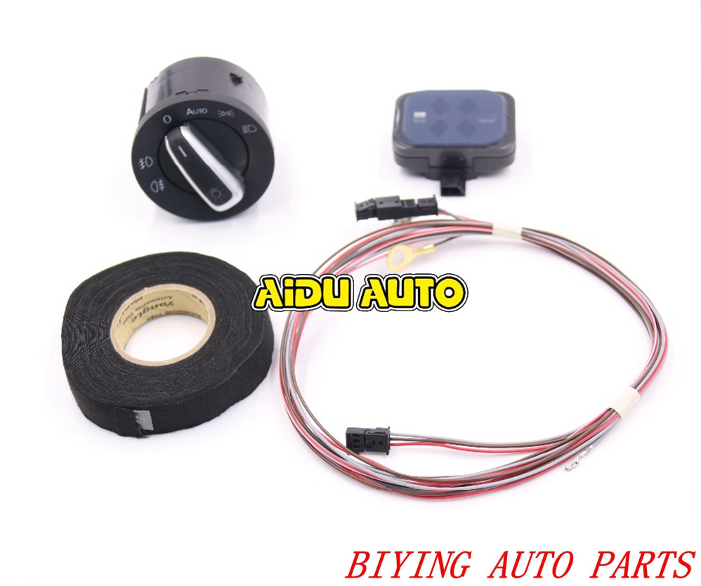 auto headlight switch rain sensor wire cable harness for. Black Bedroom Furniture Sets. Home Design Ideas