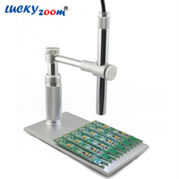1 500x Zooming 2MP HD USB Digital Microscope 8 LED Electronic Video Camera Electron Pen Endoscope
