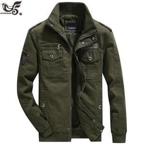 US Army Tactical Clothes men`s streetwear Windbreaker Military Field Jackets Winter/Autumn Flight Pilot Bomber Jacket men Coat