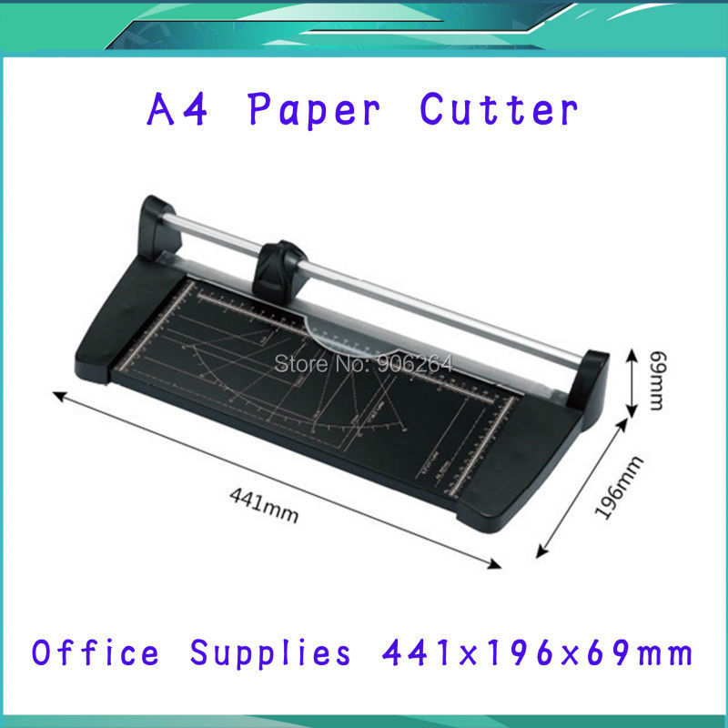 Brand New Portable Paper Cutting MachineA4(441X196X69MM) Manual Paper Trimmer Cutter Blades Handmade Tool Office School Supplies visad scissors portable paper trimmer paper cutting machine manual paper cutter for a4 photo with side ruler