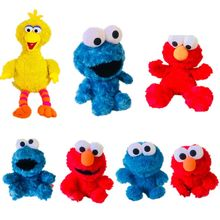 1pieces/lot big 80cm edition plush Big troopial cookie monster doll muppets frog Kermit toy Christmas gift(China)