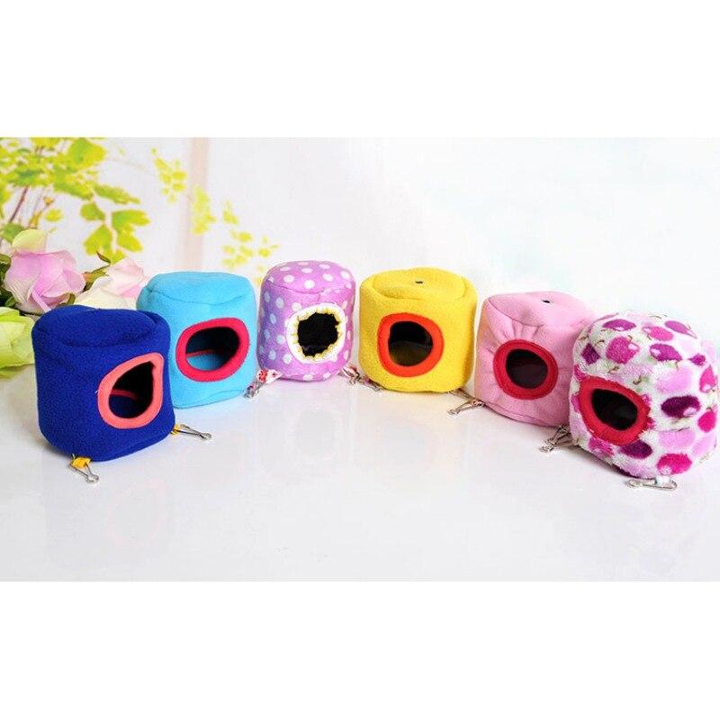 Appeso Bed Toy Hammock per Furetto Rat Hamster Parrot Scoiattolo 10cm - Prodotti per animali domestici - Fotografia 1