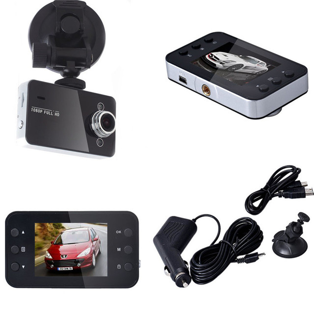 "2.4"" LCD Full HD 1080P Car DVR Vehicle Camera Video Recorder"