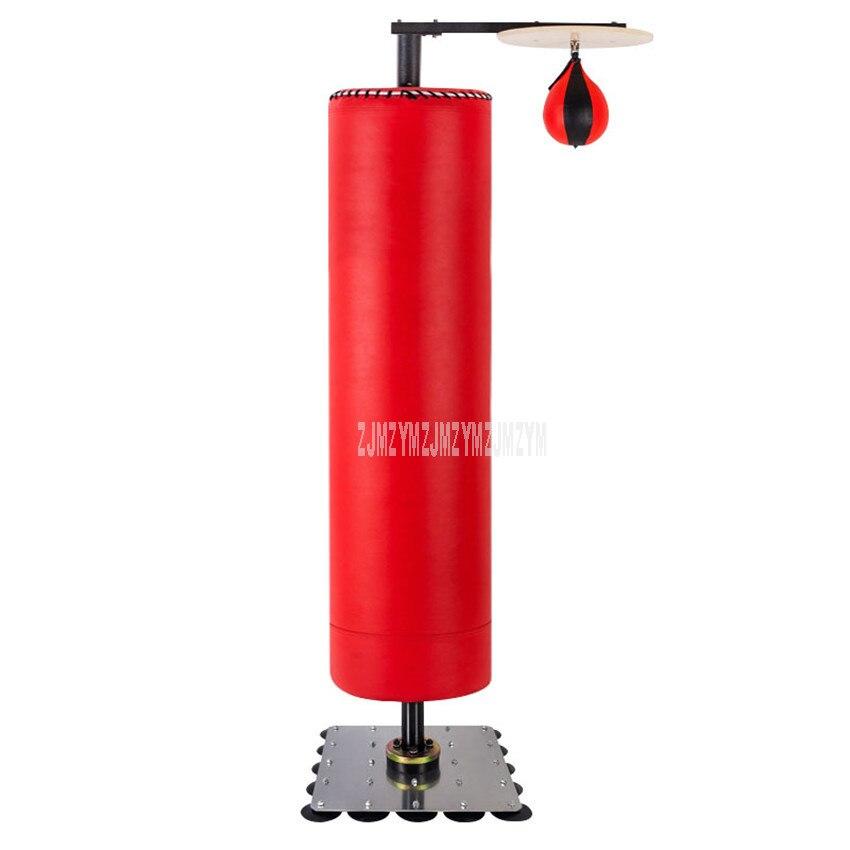 Sac de sable de boxe vide Vertical Stress poinçonnage boxe entraînement debout soulagement de la pression rebond dos sac de sable avec gant FX-B303-1