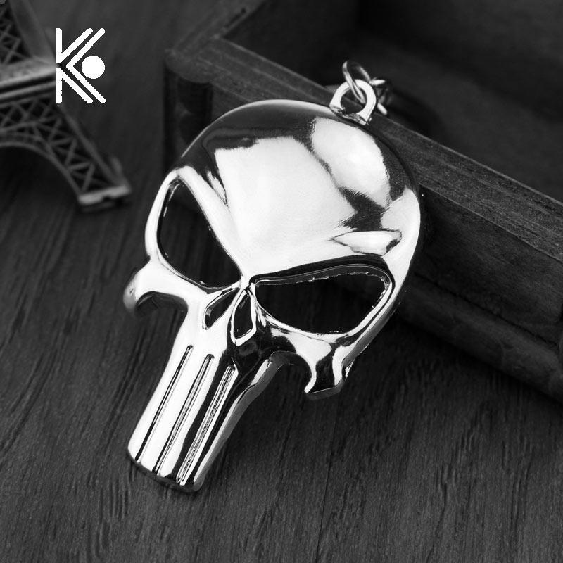 cool punisher skull bottle opener keychain bar beer wine tool mask key chain ring keyring. Black Bedroom Furniture Sets. Home Design Ideas