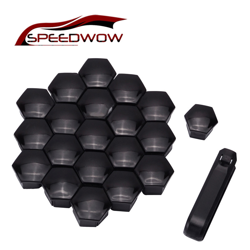 SPEEDWOW <font><b>20pcs</b></font> Car Wheel Auto Hub Screw Cover Wheel Nut Bolt Cover Cap For <font><b>Peugeot</b></font> 207 3008 301 307 308 2008 408 508 207 407 image