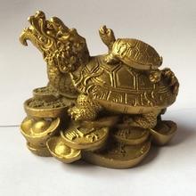 2017 lth money coin ingot dragon turtle Tortoise Longevity statue decoration metal handicraft want Please contact me