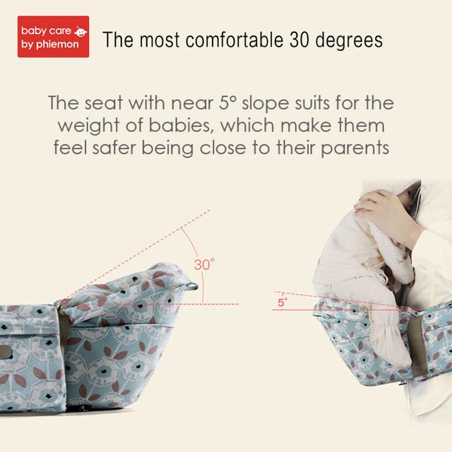 Babycare Adjustable Ergonomic Comfortable Baby Infant 3D Waist Stool Walker Carrier Hipseat Newborn Hip Seat Toddler Belt Wrap