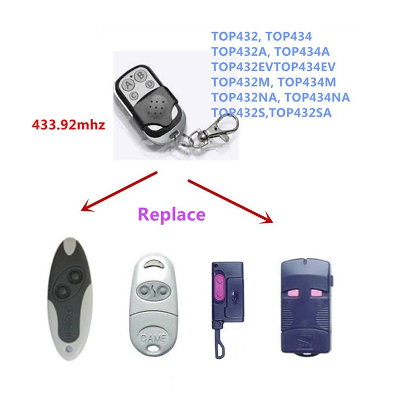 Copy CAME TOP432EE Remote Contol Came Top 432 EE Transmitter Duplicator 433.92 MHZCopy CAME TOP432EE Remote Contol Came Top 432 EE Transmitter Duplicator 433.92 MHZ