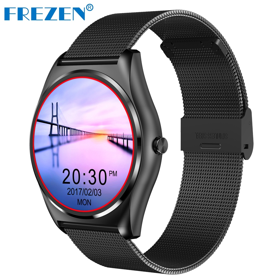 REZEN N3 Bluetooth Smart Watch With Heart Rate Monitor SmartWatch Wireless Charging Support Call Reminder for ios Android Watch wireless service call bell system popular in restaurant ce passed 433 92mhz full equipment watch pager 1 watch 7 call button