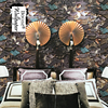 Quality Waterproof Personalized Antique Chinese Style Houses Vintage 3D Bricks Wallpaper Rolls For Bedroom 3d Stone