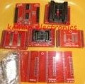 1 conjunto de 8 pcs NOVA original Adaptadores MiniPro TL866 TSOP32 TSOP40 TSOP48 SOP44 SOP56 Soquetes TL866A TL866CS Programador Universal