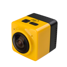 5 Шт./лот, DHL Свободный Корабль GV100H 360 Мини Wi-Fi Action Sports Камера 1280×1024 Видео 32 ГБ TF Карт памяти Multi цвет 1300 МАч Батареи