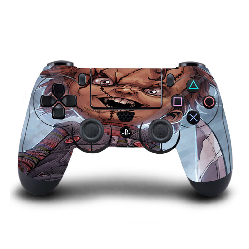 Game PS4 Wireless Controller Skin Childs Play PS4 Sticker Full Cover for Sony Play Station 4 Wireless Controller PS4 Accessory