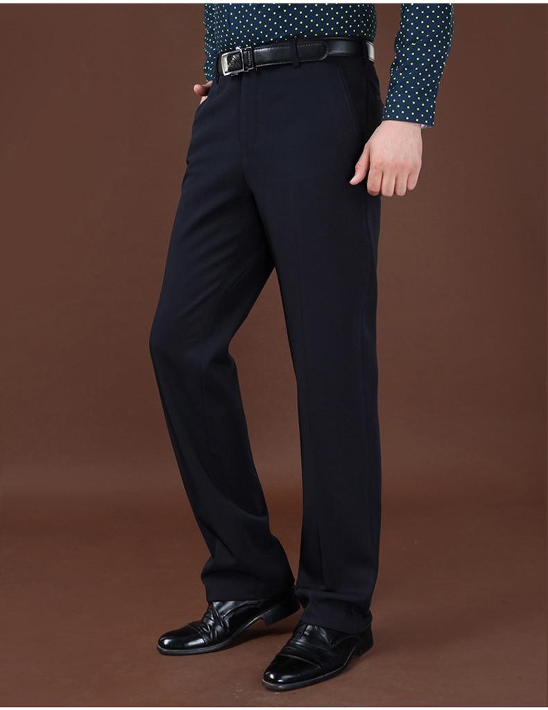 HTB1Ik eXDlYBeNjSszcq6zwhFXaN Plus Sizes 40 42 44 Business Casual Fleece Warm Suit Pants New Straight Formal Male Winter Trousers Plus Thicken Velvet Trousers