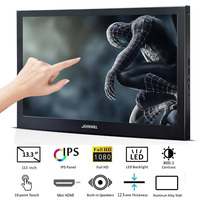 13.3 inch Monitor Touch screen PC 1920x1080 IPS Slim Portable HDMI HD 1080P Computer LCD Monitor for PS3 PS4 Xbox Raspberry Pi
