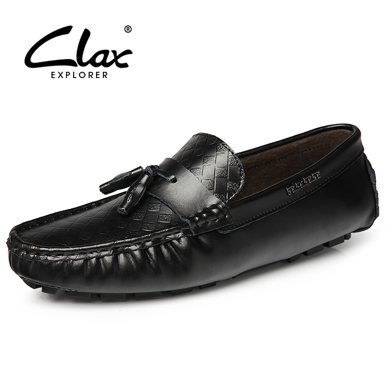Clax Men Tassel Loafers Shoe 2017 Spring Summer Black Casual Leather Shoes Soft Male Designer Flats Moccasin Classic ноутбук lenovo thinkpad t540 р 15 6 1366x768 матовый i3 4100m 2 5ghz 4gb 500gb 8gb ssd hd4600 dvd rw wi fi bluetooth win7 win8 1 черный 20be0099rt