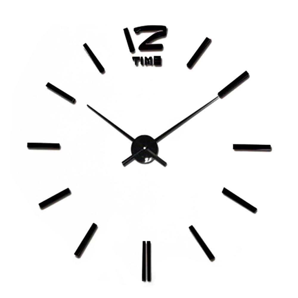 2017 new wall clock clocks horloge modern design reloj de pared large decorative digital. Black Bedroom Furniture Sets. Home Design Ideas