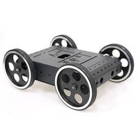 DOIT C3 4WD Smart Robot Car withAluminum alloy, 4pcs DC 12V Motor, 95mm Steel Wheel, High Loading Capacity DIY RC Toy