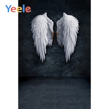 Yeele Brick Wall Old White Wings Floor Scene Photography Background Home Decor Customized Photographic Backdrop For Photo Studio