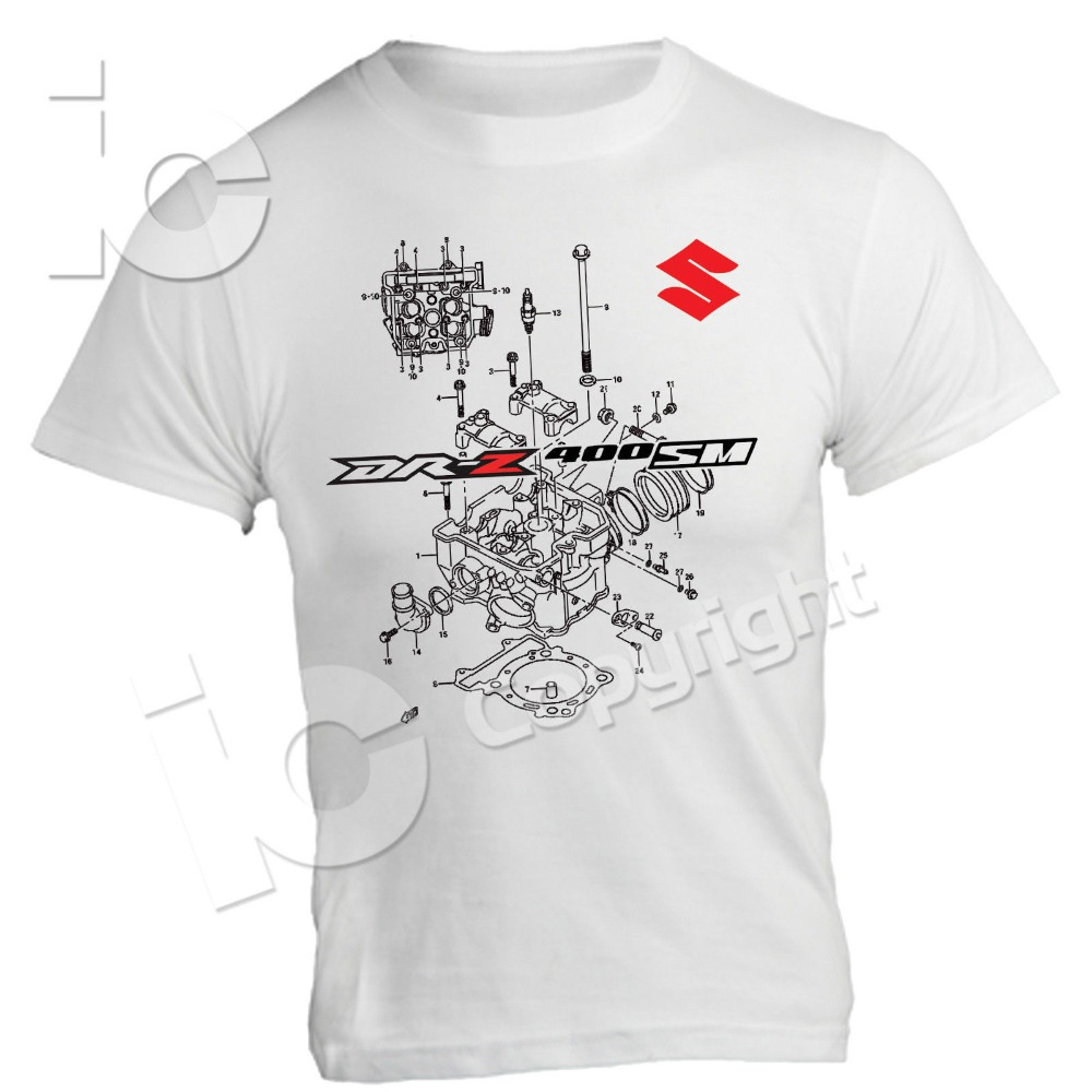 2019 Motorcycle Motorrad T Shirt Suz DRZ 400 Sm 400 Cross Supermotard Moto Racings Enduro Circuit-in T-Shirts from Men's Clothing on AliExpress - 11.11_Double 11_Singles' Day 1
