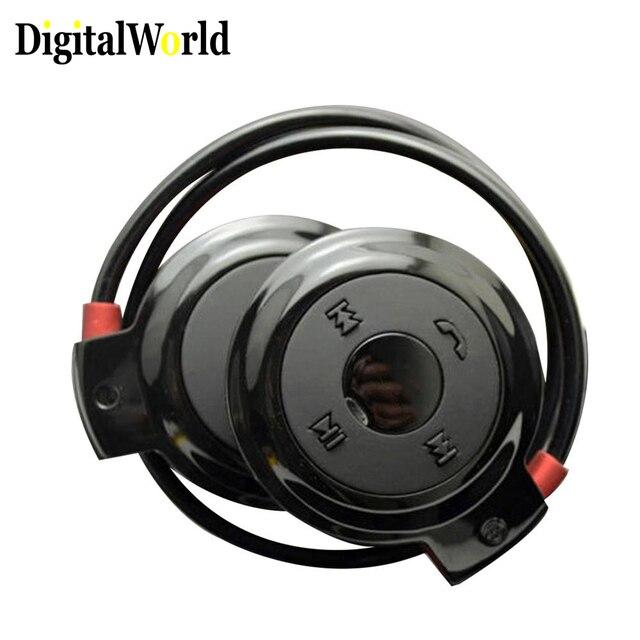 ثلاثية الأبعاد صغيرة 503 Mini503 سماعة لاسلكية تعمل بالبلوتوث 4.2 سماعة الموسيقى FM سماعة سماعة رأس لاسلكية رياضية ستيريو مايكرو SD بطاقة
