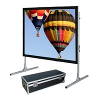 Fast fold Front Projection Screen/fast Fold Screen/large Outdoor Projection Screens