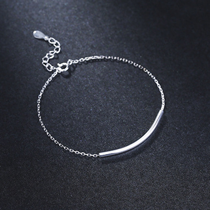 B15 for NLNL customer send with bag 925 silver simple style for women birthday gift