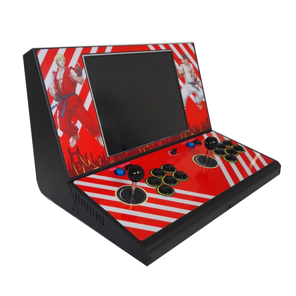 15 นิ้ว LCD หลายเกมมินิเครื่องอาเขต 2222 ใน 1 กล่องแพนดอร่า 9D