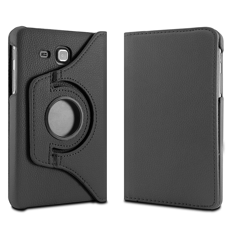 QianNiao 360 Degree Rotating PU Leather Case For Samsung Galaxy Tab A 7.0 inch SM-T280 T280 T285 Flip Stand Tablet Smart Cover