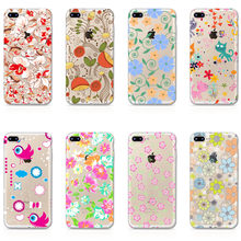 Soft Case for iPhone 5S 5G SE 6 / 6s / 6s Plus / 6 Plus / 7 / 7Plus Cover 3D Printing Soft TPU Hard Back Phone Cases for iPhone(China)