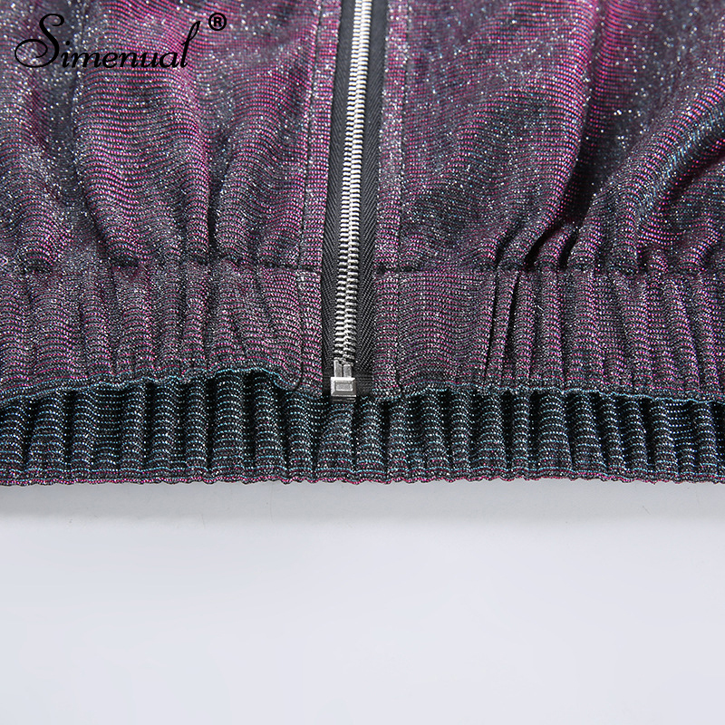 sequin zipper highstreetwear women sweatshirts long sleeve turtleneck (10)