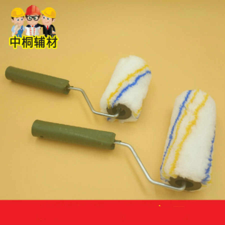 "10pcs 4 ""6"" paint paint roller brush hardware tools paint small roller brush"