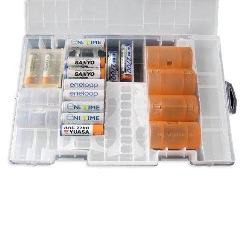 new styles 35972 7783b Clear Color AA AAA C D 9V Battery Storage Case/Organizer/Holder-in  Replacement Parts & Accessories from Consumer Electronics on Aliexpress.com  | ...