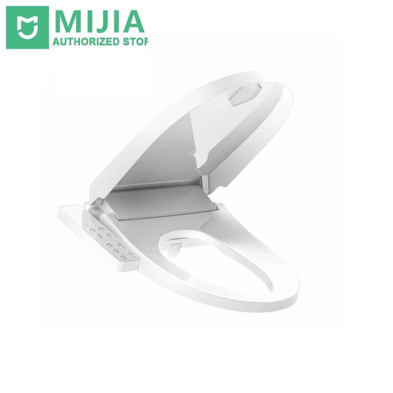 Original Xiaomi inteligente mi inteligente asiento de inodoro Washlet alargado eléctricos Bidet cubierta inteligente tapa de inodoro para Xiaomi mi casa inteligente