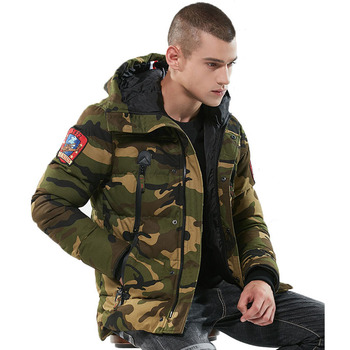 Parka Men Winter Jackets Cotton Chaquetas Hombre Camo Overcoat Mens Casual Camouflage Mens Jackets and Coats Dropshipping