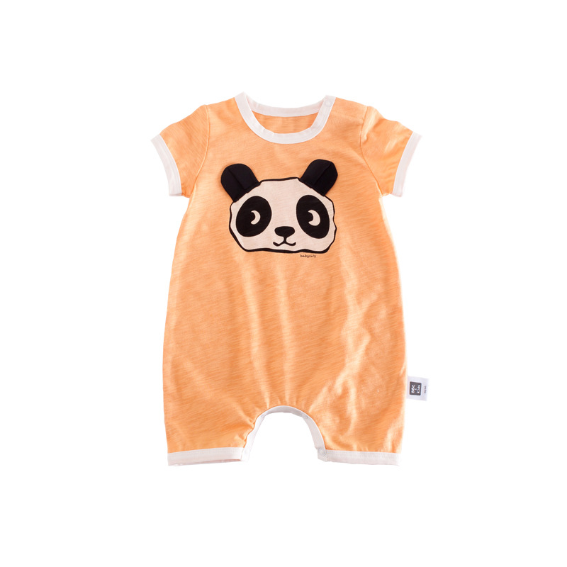 Celveroso 2018 cartoon panda baby Romper unisex katoen Korte mouw - Babykleding - Foto 5