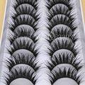 Cílios Postiços Cílios 10 Pairs Longa Seção DO G20 Fibra De Cílios Naturais Grosso Cílios Postiços Maquiagem Ferramenta de Alta Qualidade
