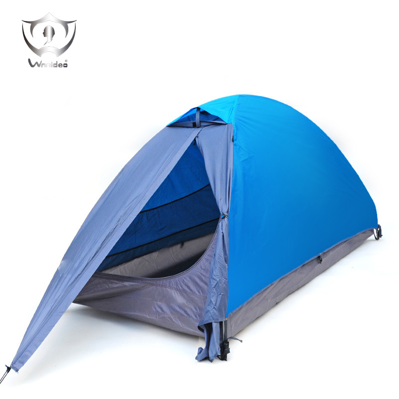 Camping Tent Professional Outdoor Dome Double Tent Travelite Light Weight Family  Tent  Personbarraca De Acampamento ZF7-0602 outdoor double layer 10 14 persons camping holiday arbor tent sun canopy canopy tent