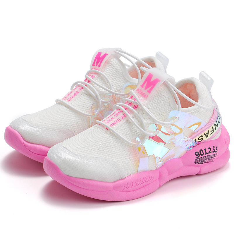 ULKNN Fall Children's Baby Mesh Sports Shoes 2019 Autumn New Boys Breathable Casual Shoes Girls Fashion Old Shoes