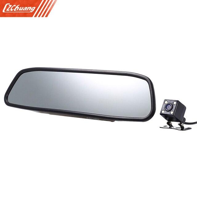 Kelima 4.3 дюймов автомобиля резервную обратный Системы Зеркало заднего вида
