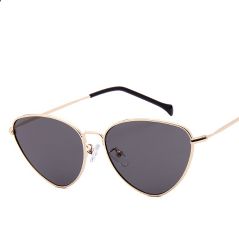 LONSY Fashion Retro Cat Eye Sunglasses Women Brand Designer Vintage Sun Glasses For Women Lady Female Gafas De Sol Oculos UV400