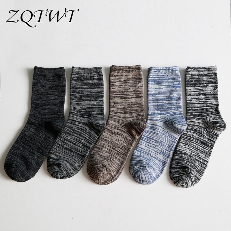 ZQTWT 5Pair/Lot High Quality New Cotton Casual Meias Comfortable Socks for Women Men Socks Harajuku Socks Funny Socks 3WZ054