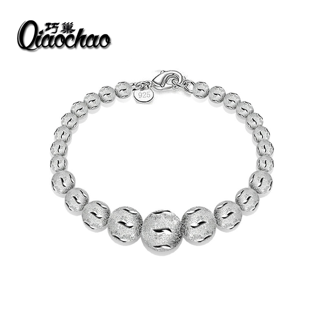 Jewelry Women Bracelet Cuban links   chains Silver Bracelet for Bangle Women  Accessory Wholesale Free Shipping S92 4c49d3d45
