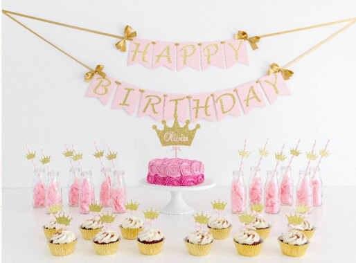 Princess Theme Party Birthday Party Decorations Babdy Party Decor First Birthday Confetti Birthday Party Table Decor Party Decoration Birthday Party Decorationsthemed Party Aliexpress