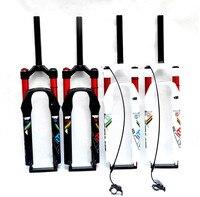 1-1/8y 1-1/2MTB SUSPENSIÓN de Aire de Amortiguación Tenedor Bicicleta de Montaña 26 27.5 29