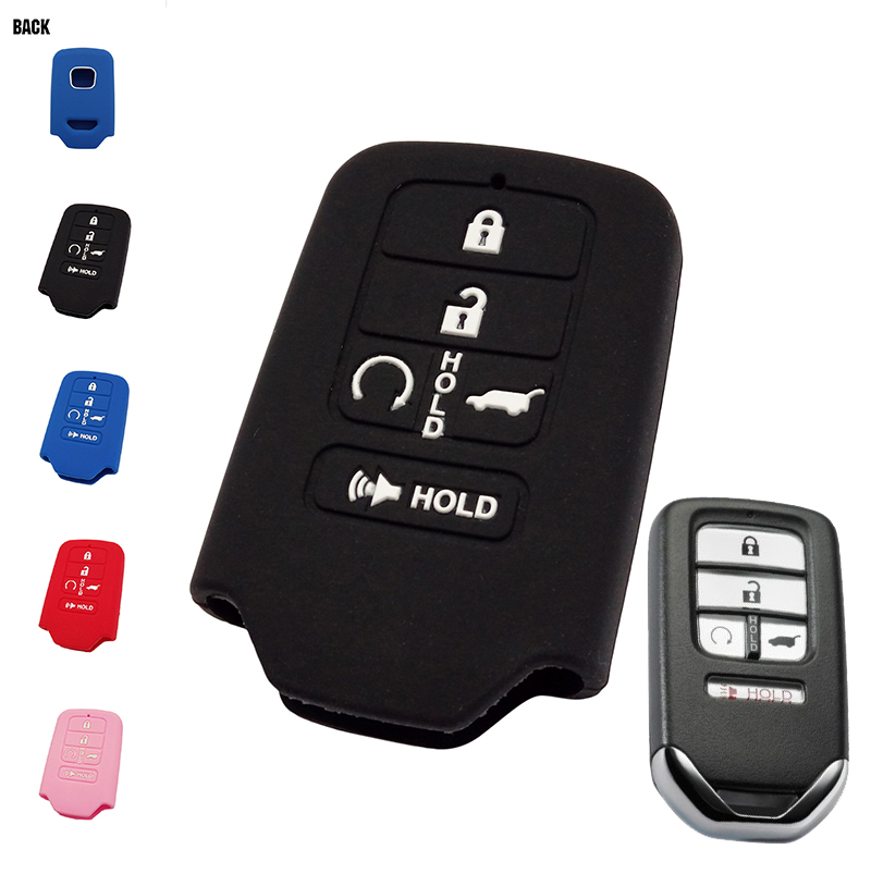 buy 5 buttons silicone car keyless smart. Black Bedroom Furniture Sets. Home Design Ideas